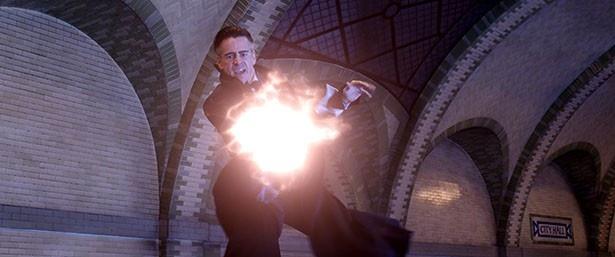 【写真を見る】ニュートに迫る強力な魔法使いグレイブス!