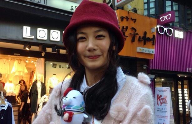 「にじいろジーン」で清水富美加が韓国・ソウルでロケを行い、さまざまな魅力を紹介する
