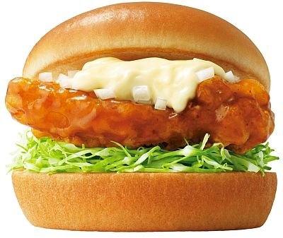 「宮崎県産鶏使用 チキン南蛮バーガー」
