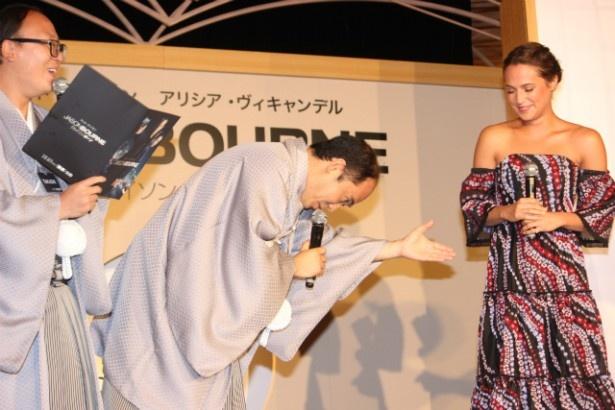 斎藤司がアリシア・ヴィキャンデルに「好きです」と告白