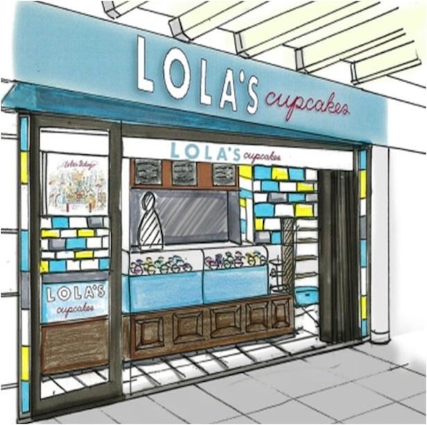 日本2号店となる「ローラズ・カップケーキ東京 六本木ヒルズ」は10月21日にオープン