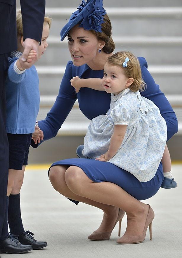 【写真を見る】怖いと話題になっているキャサリン妃をとらえた1枚!