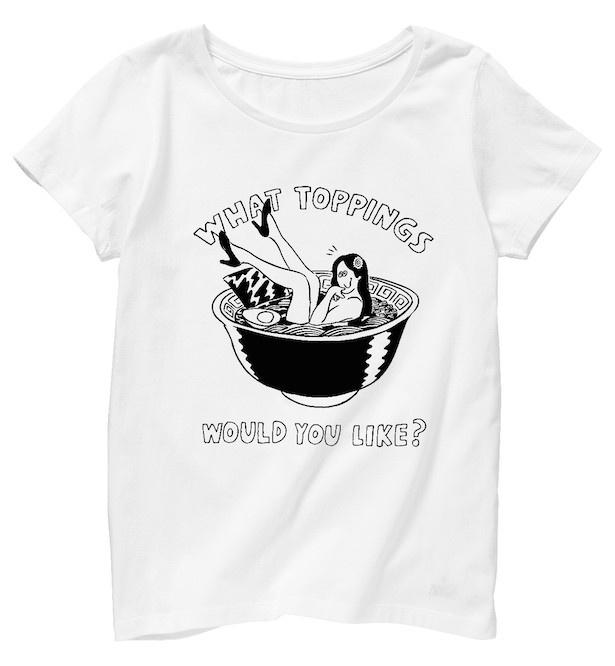 レディースTシャツ3900円(税抜)