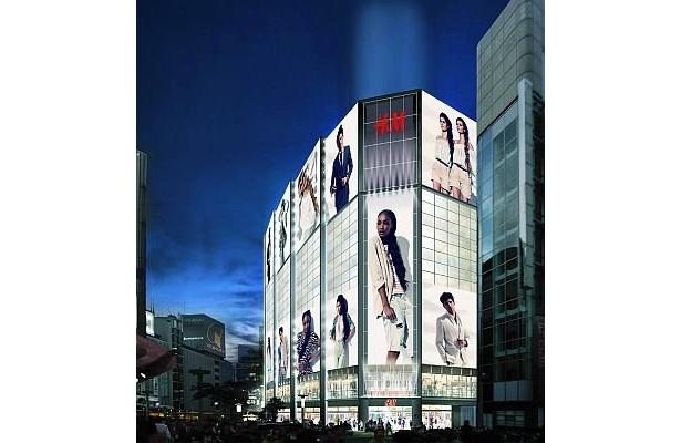 フラッグシップショップとなる渋谷店