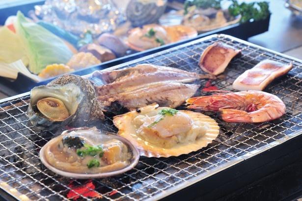 淡路島の絶景を見ながら海鮮BBQを堪能!