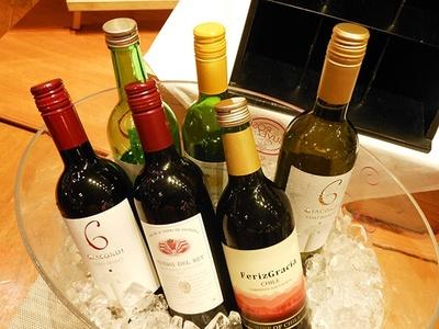 飲み放題のワインはこちら