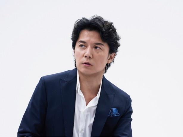 福山雅治がインタビューに登場!