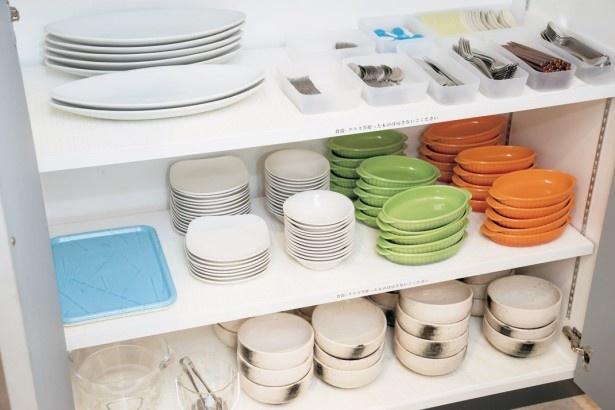 洋食器から和食器までさまざまな食器が揃っているので、手ぶらでOK