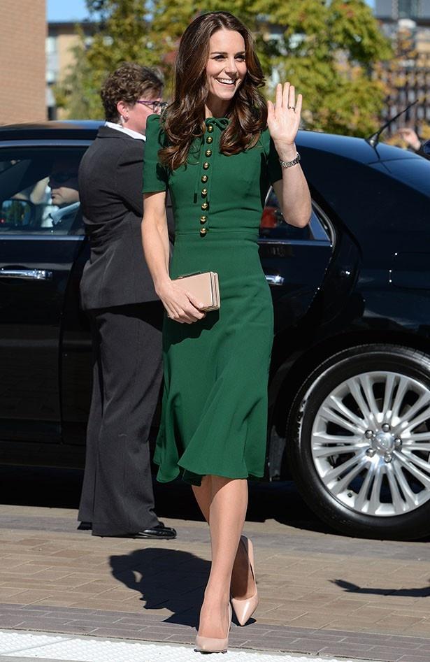 カナダ公式訪問でのキャサリン妃がどれも華やかだと絶賛されている