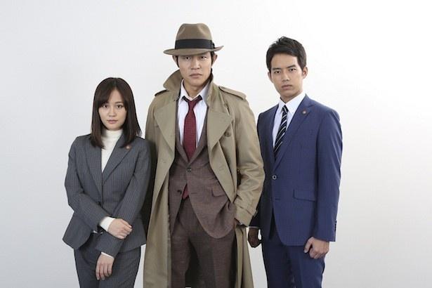日テレ×WOWOW×Hulu 共同製作ドラマ「銭形警部」が、2017年に放送・配信される