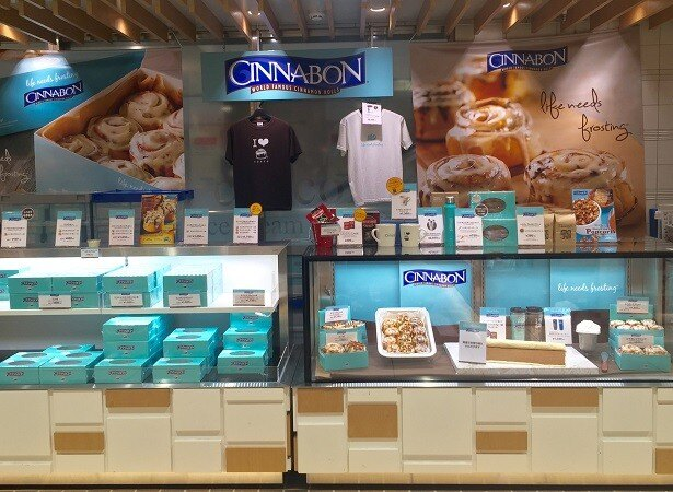 営業期間延長が決まった「シナボン東京駅店」