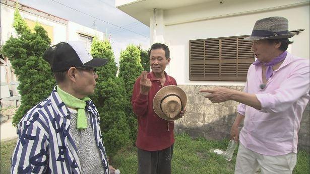 【写真を見る】加藤茶は慶留間島で出会った男性に往年のギャグを直接伝授!