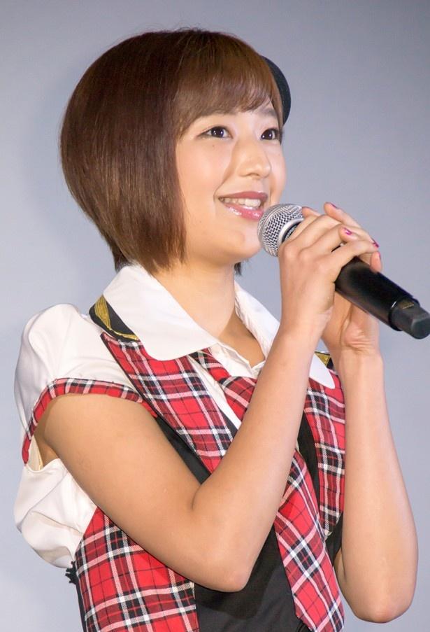 ヘアスタイルが素敵な山谷花純さん