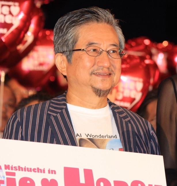 『CUTIE HONEY -TEARS-』初日舞台挨拶に登場した原作者の永井豪