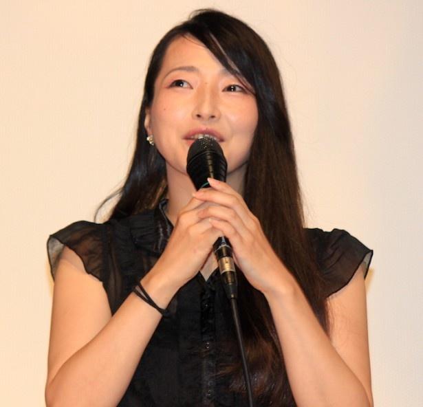 『過激派オペラ』初日舞台挨拶に登壇した遠藤留奈