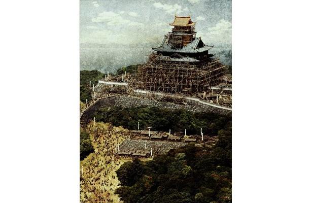 """""""幻の城""""と呼ばれる信長の居城・安土城がスクリーンに蘇える"""