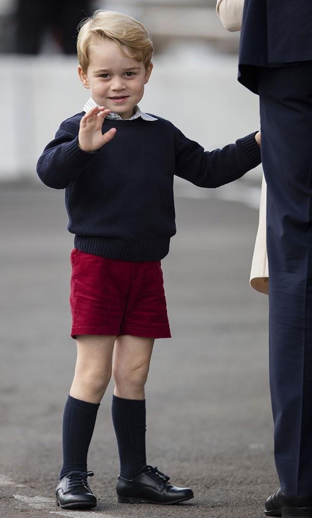 来年から小学生になるジョージ王子はあまり見られなくなる?