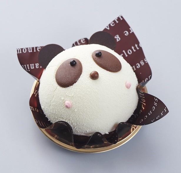【写真をみる】ベルギー産クーベルチュールを使用した「かわいいパンダちゃんデコレーション」