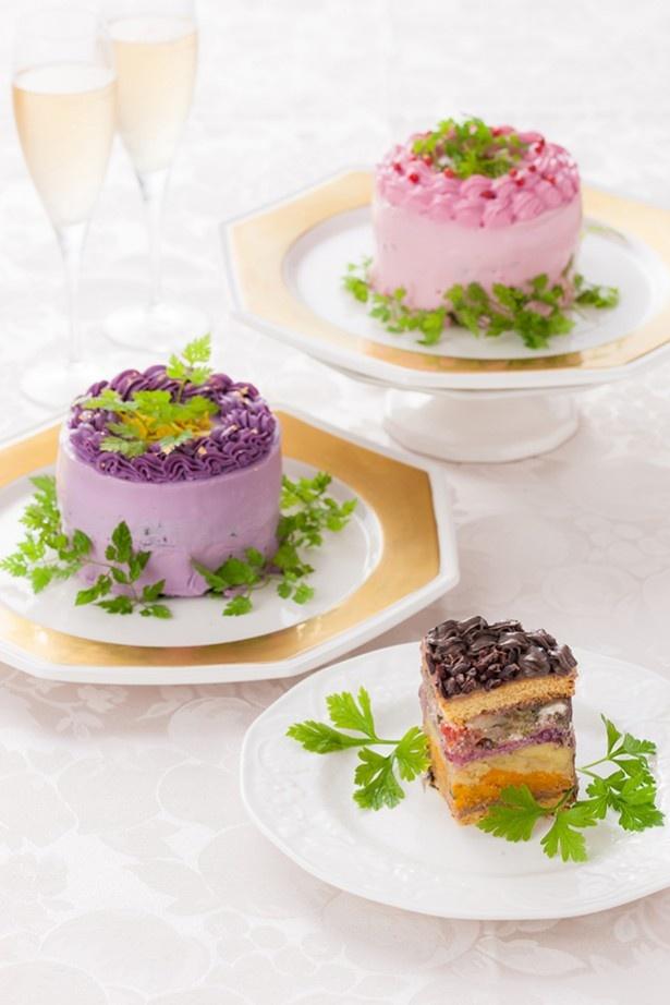 ケーキみたいなサラダの贈り物。大切な人に健康と笑顔を届けよう