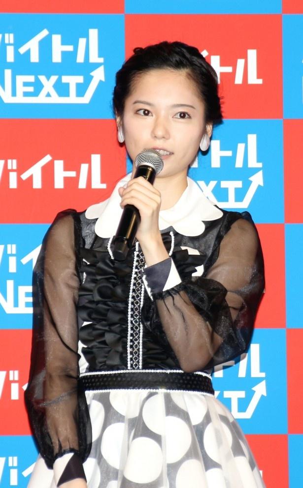 卒業発表を行ったAKB48・島崎遥香