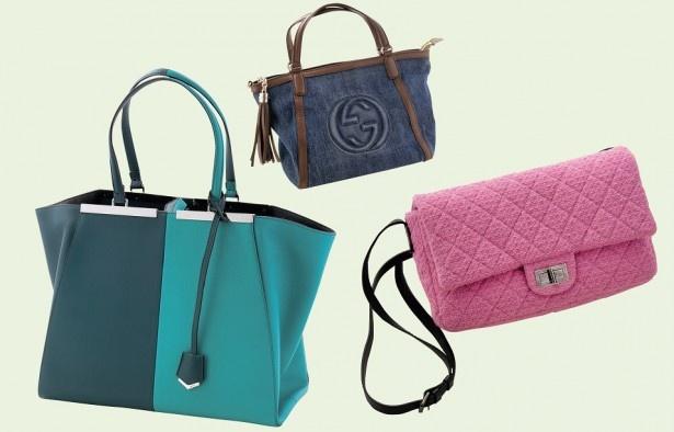 バッグの種類は、ルイ・ヴィトン、エルメス、シャネル、グッチ……と、50ブランド9000種類以上。1個選び、飽きたら次のバッグをセレクトすれば、新たなバッグが届きます