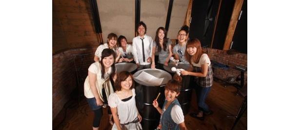 Pan Pop Paradiseは、男女9人組からなる日本人バンド