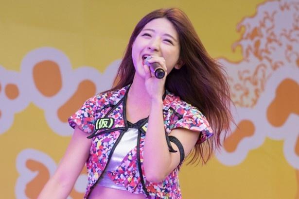 静岡出身・森ティー(森咲樹)は、MCで「念願の『フジソニック』に出演できて、ほんとに嬉しいです!」と笑顔