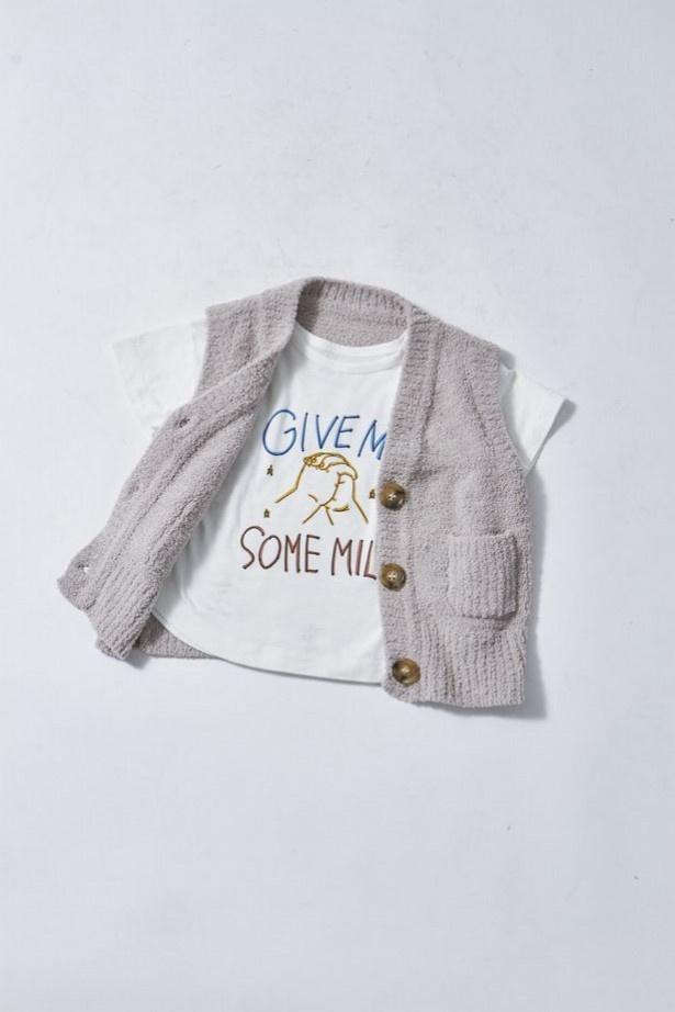 シンプルで着心地がいい子供服は、着回しがきくので便利