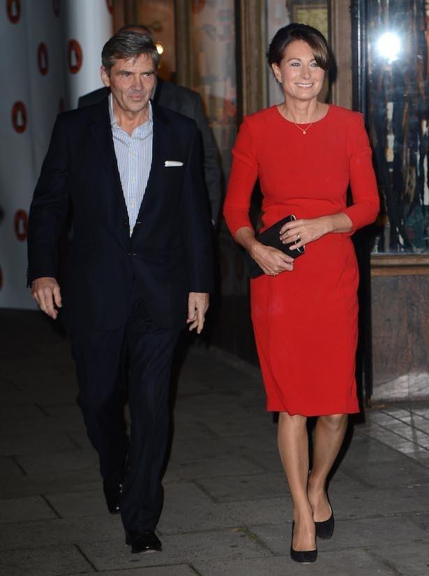 キャサリン妃の両親、父マイケルと母キャサリン