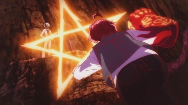 「双星の陰陽師」第26話先行カットが到着。千々石と百道に苦戦を強いられたろくろ&紅緒は…