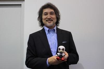 「KIROBO mini(キロボ ミニ)」の開発責任者であるトヨタ自動車の片岡史憲氏