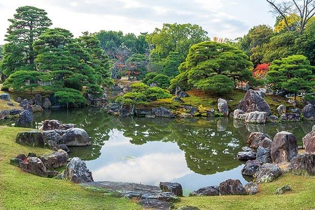 城内にある趣の異なる3つの庭園を巡って、その美しさに癒されたい/元離宮 二条城