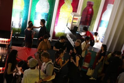 音楽やアートを絡めたイベントだけあって、雰囲気までオシャレ!