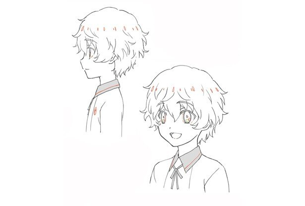秋田藤四郎 表情