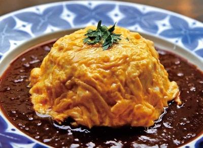 ROUGH RAREでも一番人気のオムライスに、神戸長田の味をプラスしてアレンジ