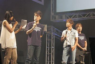 土田さんも大興奮!「役柄と実物が一番キャラクターが違うのはフラウですね〜。実際はクールです」と土田さん