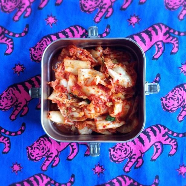 キムチは調味料としても優秀な素材。料理にうま味をプラスしてくれます