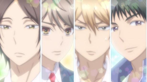 TBSほかで10月6日(木)スタートのアニメ「私がモテてどうすんだ」第1話『できるかな?リアル乙女ゲー』先行カットより