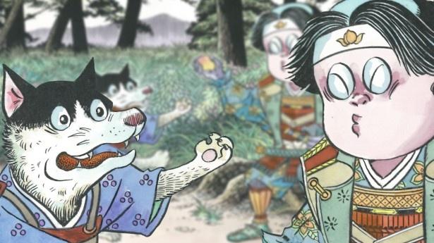 【写真を見る】小野大輔演じる犬のイケメン過ぎる口説き文句に、桃太郎(CV:南明奈)がメロメロ!?