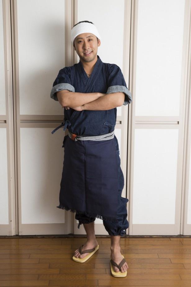 「お料理マラソン」に出演する料理家・きじまりゅうた