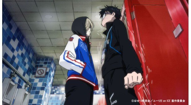 TVアニメ「ユーリ!!! on ICE」第1話場面カットが到着。現役続行と引退の間で悩む勇利