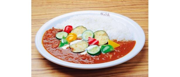 林先生のテクニックがいかんなく発揮された、たべ頃の野菜カレー¥1050