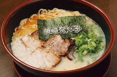 藤崎菜々子も納得の、白とんとん麺¥680
