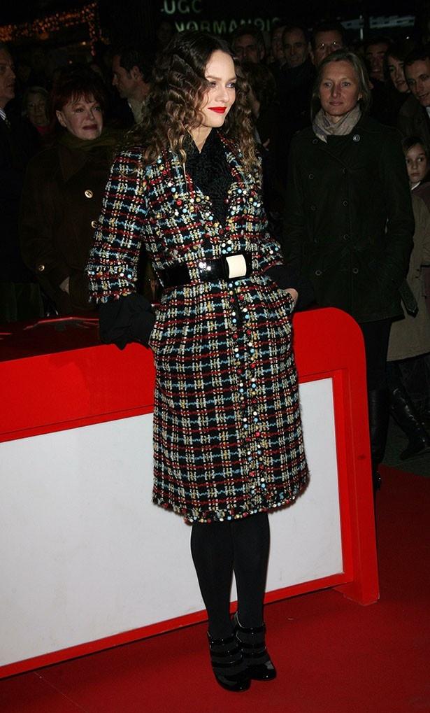 2007年のヴァネッサもスタイリッシュで気品があふれていた
