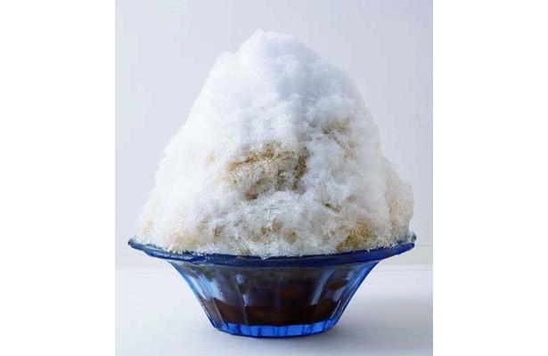 沖縄の夏の定番お菓子「沖縄ぜんざい」は、黒糖で煮た金時豆がポイント(400円/パーラー江古田)