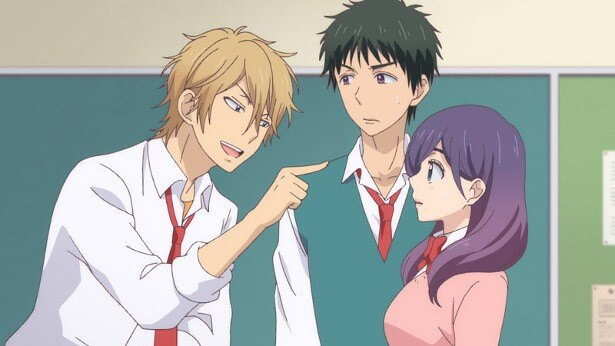 TVアニメ「私がモテてどうすんだ」第1話先行カットが到着。放送直前ニコ生も実施!