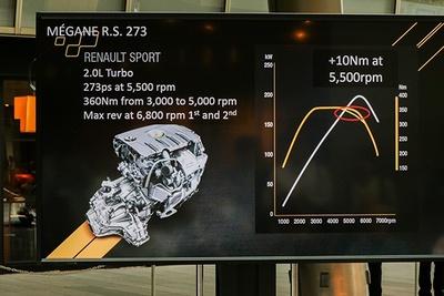 搭載されるエンジンは273馬力を発生する2.0L 4気筒ターボ