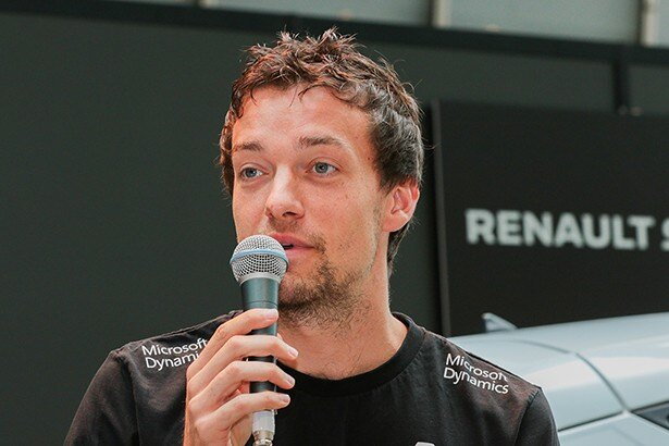 F1ドライバーのジュリオン・パーマー