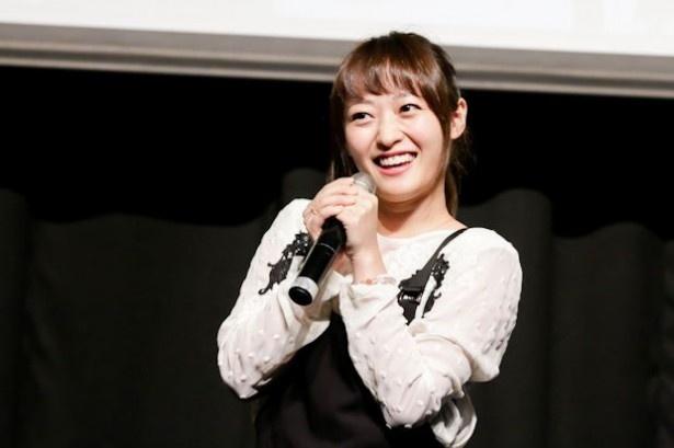 「憧れは綾瀬はるかさん!」と、NMB48元メンバーの三秋里歩がコメント