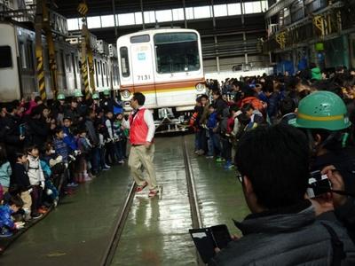 【写真を見る】鉄道好きのお父さんや子供にはたまらないイベント。事前応募制なので注意!